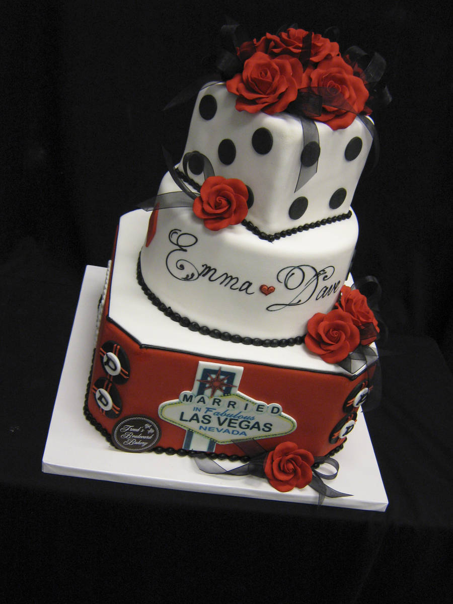 A cake created by Freed's Bakery of Las Vegas. (Freed's Bakery)