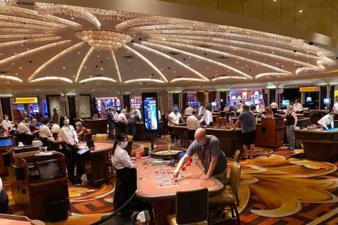 Caesars Palace in Las Vegas. (K.M. Cannon/Las Vegas Review-Journal) @KMCannonPhoto
