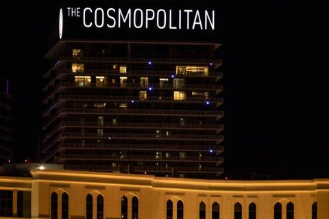 The Cosmopolitan of Las Vegas (Ellen Schmidt/Las Vegas Review-Journal) @ellenkschmidt_