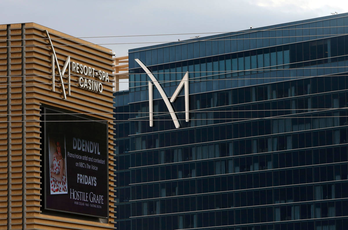 The exterior of M Resort Spa Casino photographed on Tuesday, May 1, 2018, in Henderson. (Bizuay ...