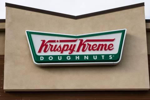 Krispy Kreme Doughnuts (Bizuayehu Tesfaye/Las Vegas Review-Journal) @bizutesfaye