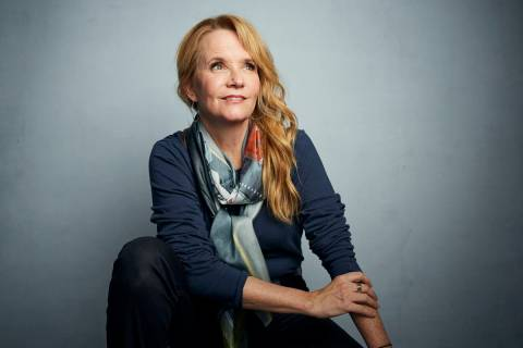 "Lea Thompson poses for a portrait to promote the film ""Dinner in America"" at the Musi ..."