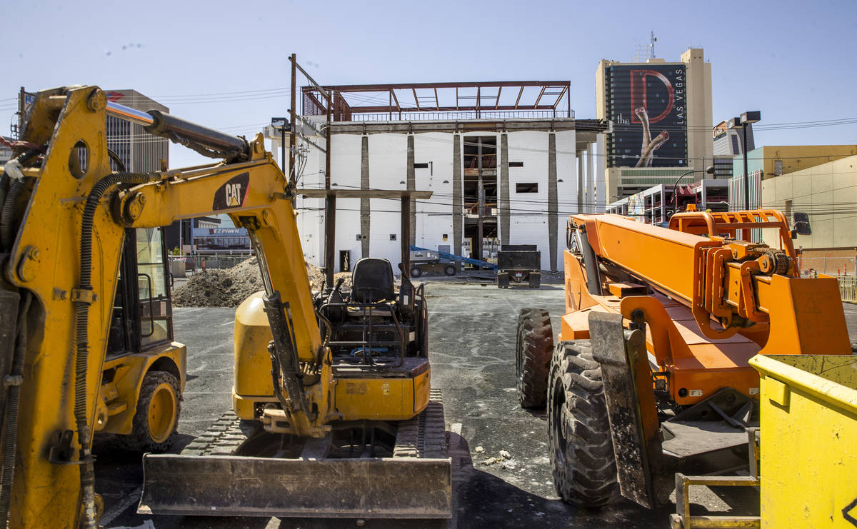 A six-story parking garage will be erected as redevelopment construction by the Dapper Companie ...