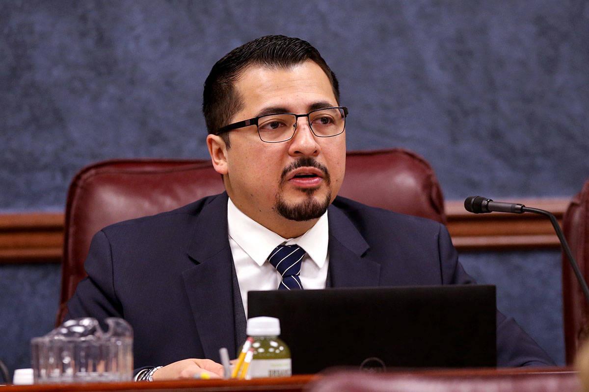 Assemblyman Edgar Flores, D-Las Vegas. (K.M. Cannon/Las Vegas Review-Journal) @KMCannonPhoto