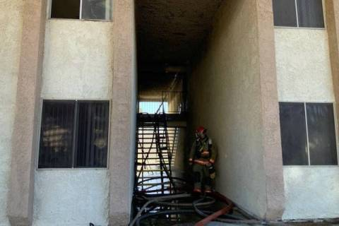 Walker House Apartments (Las Vegas Fire Department)