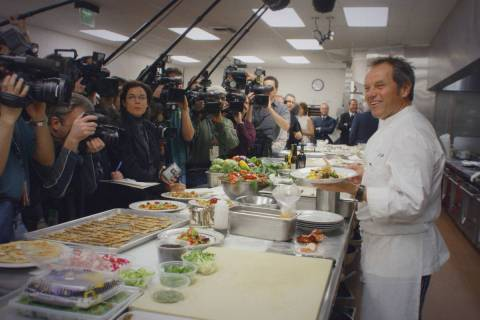 """""""Wolfgang,"""" the feature documentary look at Wolfgang Puck, will debut June 25 on Disney+. ( ..."""