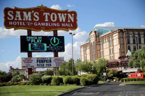 Sam's Town in Las Vegas (K.M. Cannon/Las Vegas Review-Journal) @KMCannonPhoto