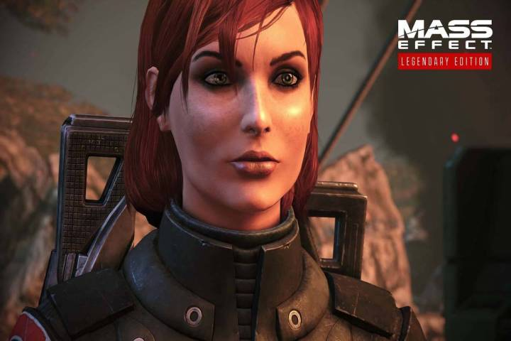 Fans can choose between playing a male or female version of Commander Shepard. (EA)