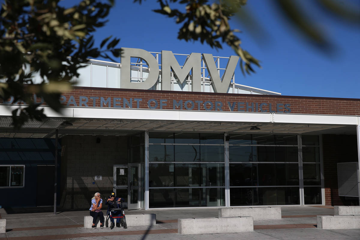 Nevada's Department of Motor Vehicle is figuring out how to refund a technology fee after the s ...