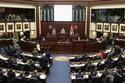 The Florida House voted to pass Seminole gambling compact during a special session, Wednesday, ...
