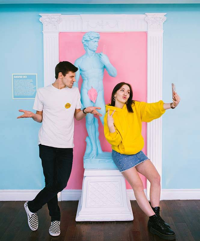 Museum of Selfies opens June 1 at the Linq Promenade on the Las Vegas Strip. (Museum of Selfies)