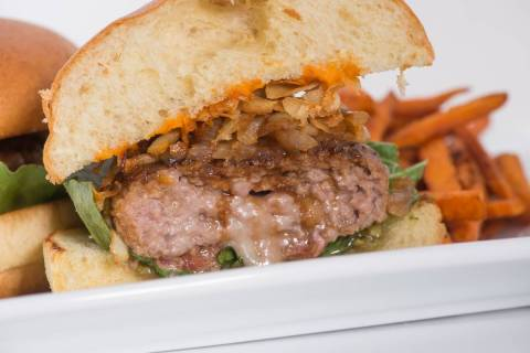 The Cure Burger at Distill and Remedy's. (Distill/Remedy's)