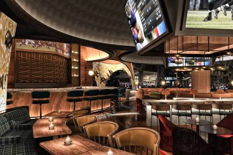 An artist's rendering of Stadia's interior. (Rockwell Group)