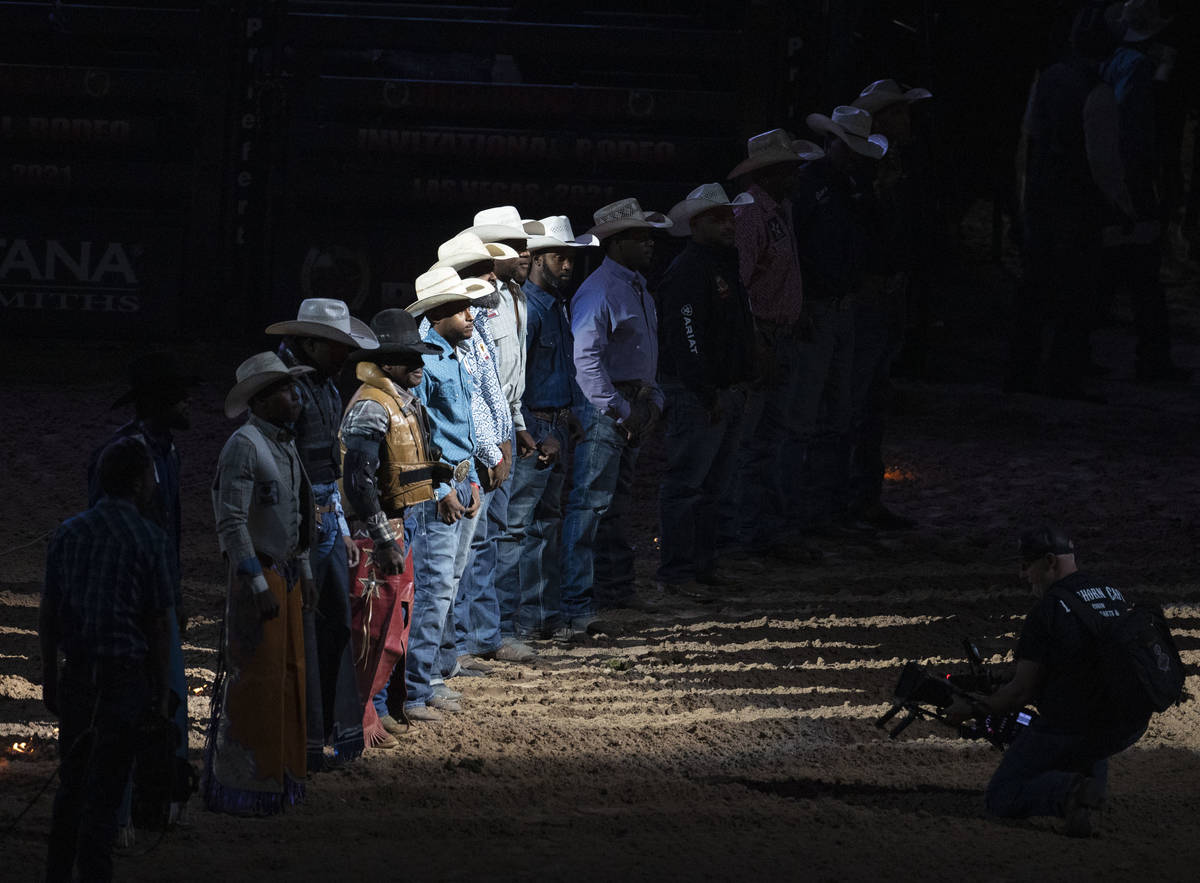 The Bill Pickett Invitational Rodeo final, the nation's only touring black rodeo competition, p ...