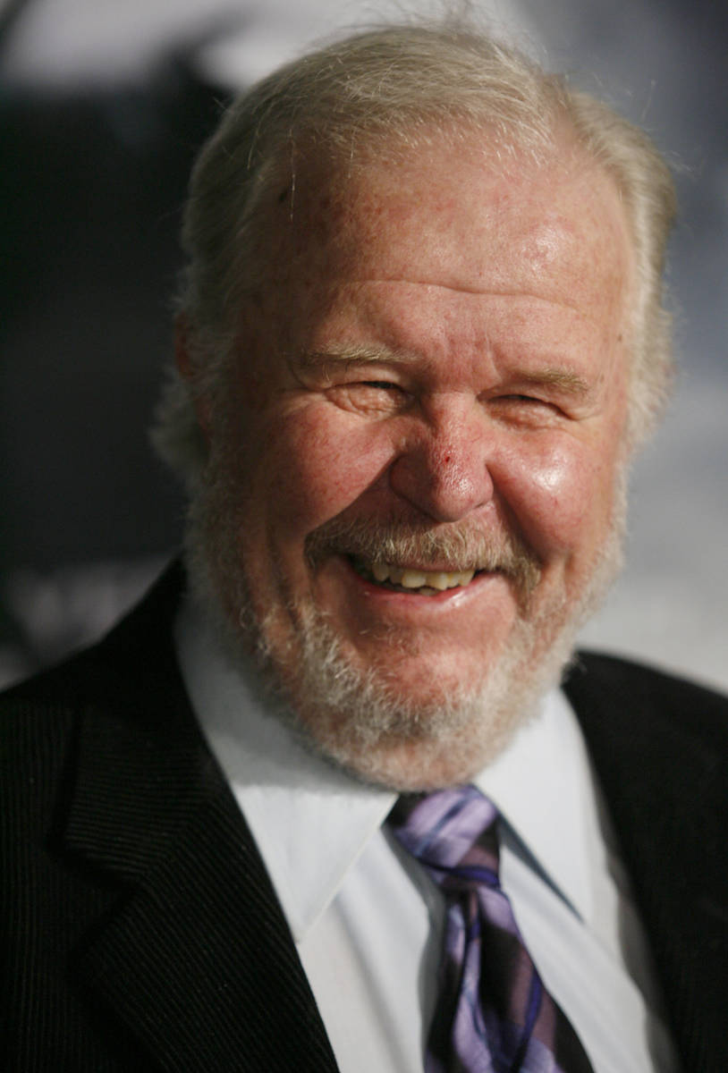 FILE - In this Thursday, March 8, 2007, file photo, actor Ned Beatty arrives at the premiere of ...