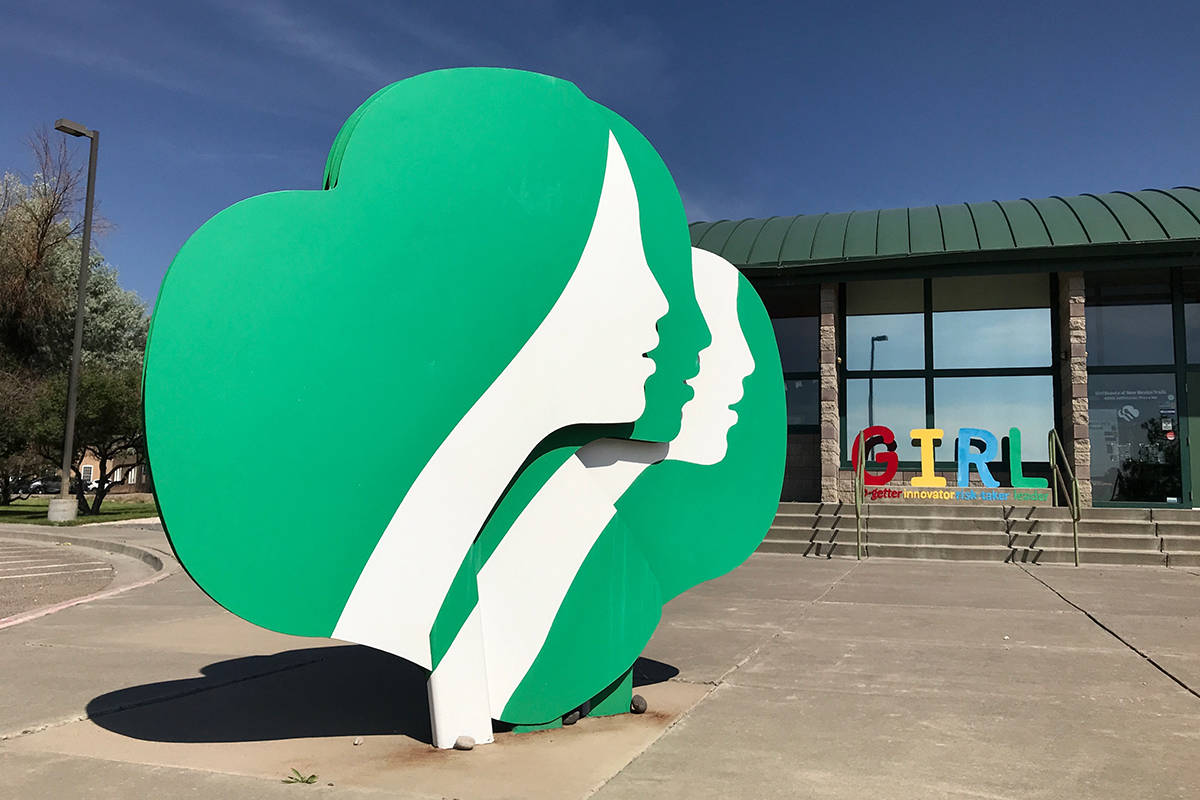 This June 7, 2021, image shows the headquarters of Girl Scouts of New Mexico Trails in Albuquer ...