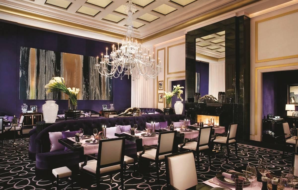 The interior of Joel Robuchon at MGM Grand. (MGM Resorts International)