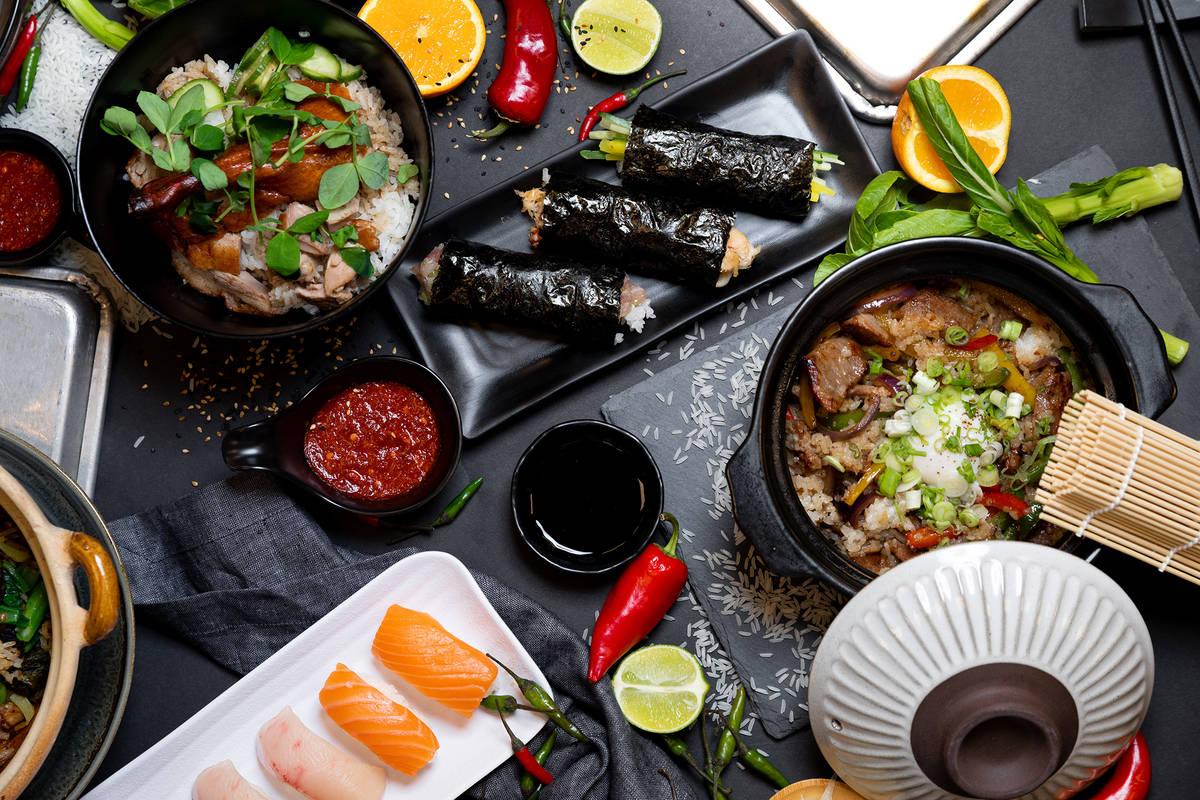 Resorts World Las Vegas Famous Foods Spread. (Megan Blair)