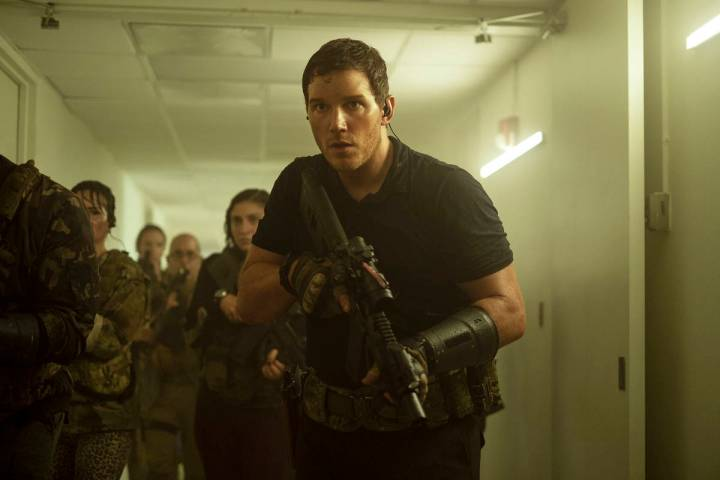 "Chris Pratt stars in ""The Tomorrow War."" (Amazon Prime Video)"
