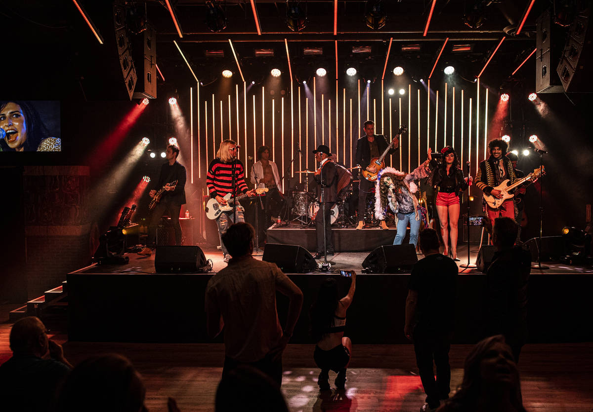 """""""27 - A Musical Experience,"""" is a new show at Virgin Hotels Las Vegas celebrating t ..."""