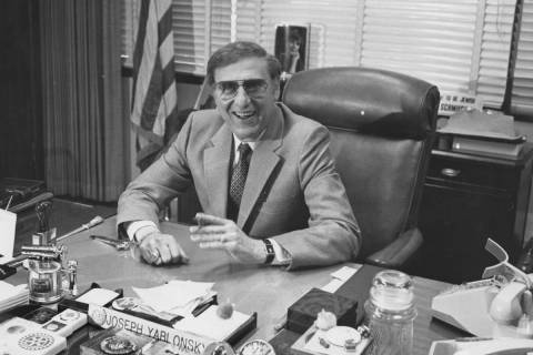 Former FBI Special Agent in Charge Joseph Yablonsky is pictured in this undated Review-Journal ...