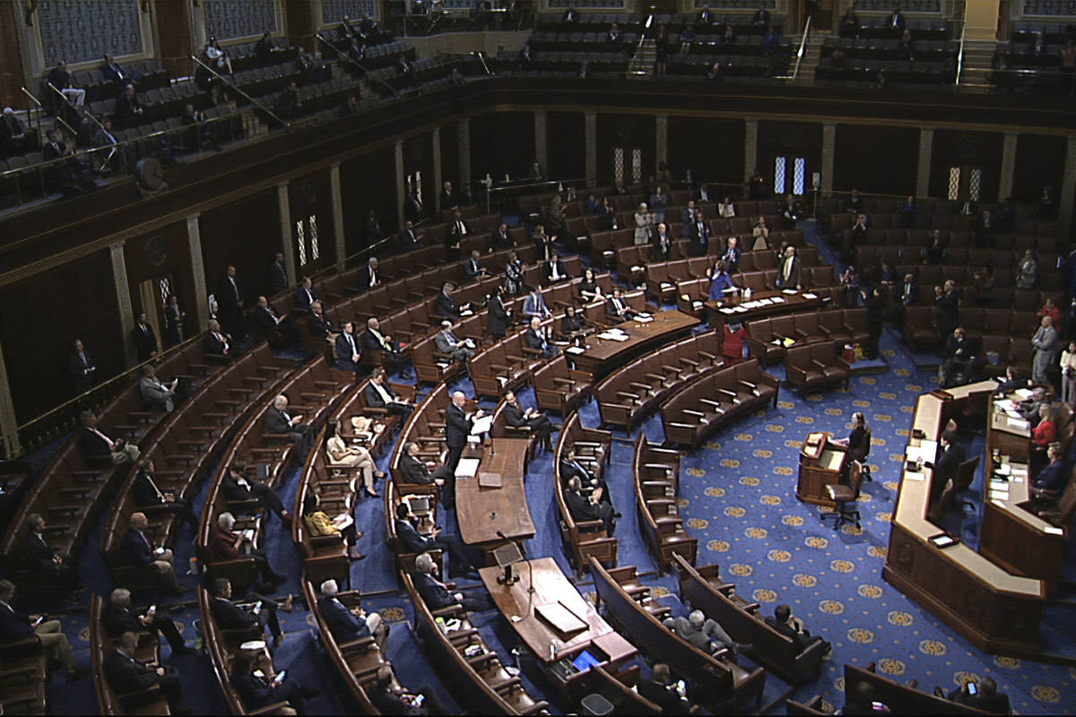 (House Television via AP)