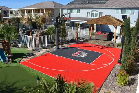 If basketball is your family's primary sport, a 3-point line may be important. At 19½ feet f ...