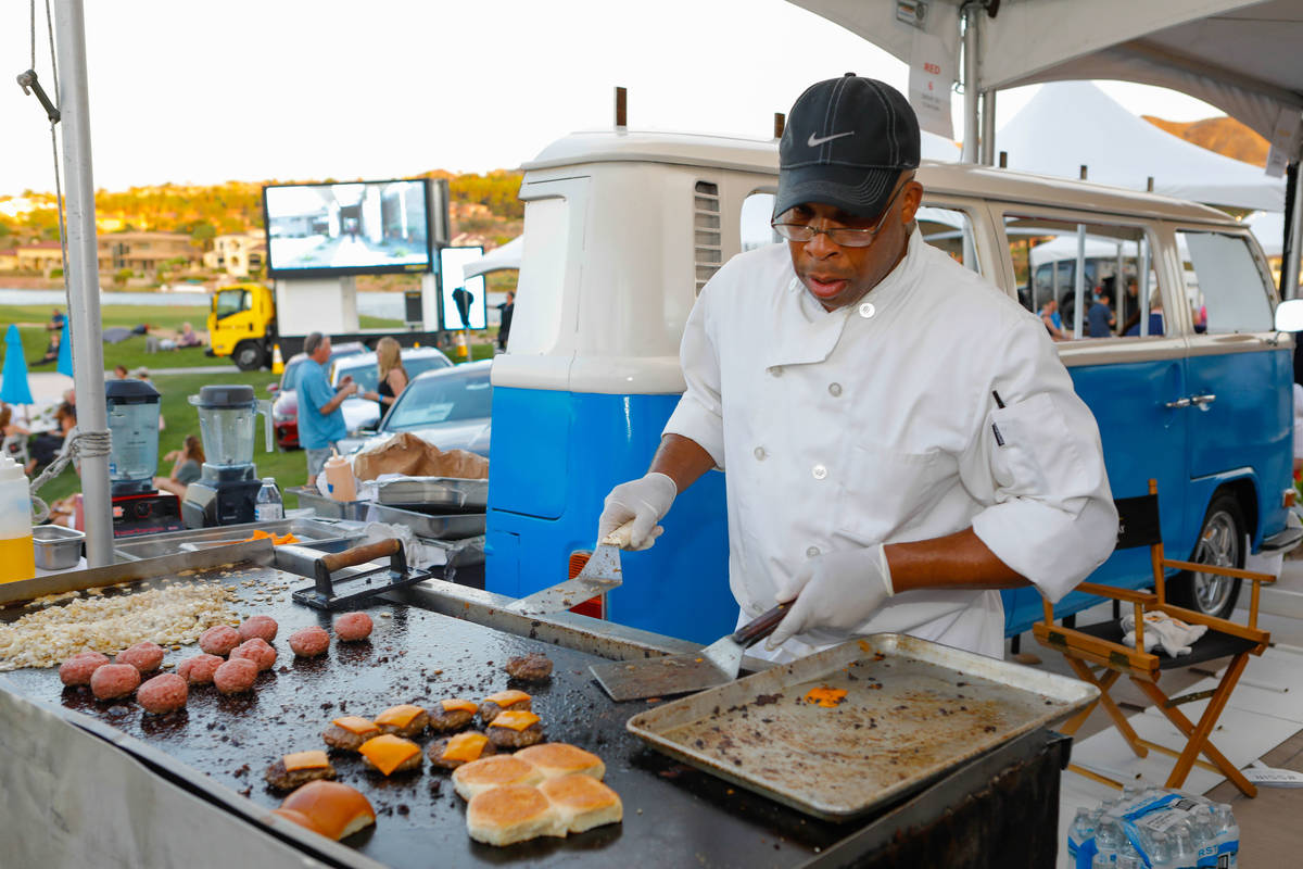 The Sept. 5 grand finale at Reflection Bay Golf Club features foods from a variety of local res ...