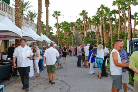 The Visit Henderson Lake Las Vegas Golf & Food Festival will be held Sept. 3-5. All proceeds wi ...