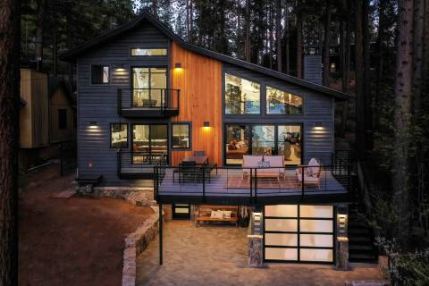 California couple Laurel and Vance Ulrich sold their luxury Lake Tahoe cabin at 465 Lakeview Av ...