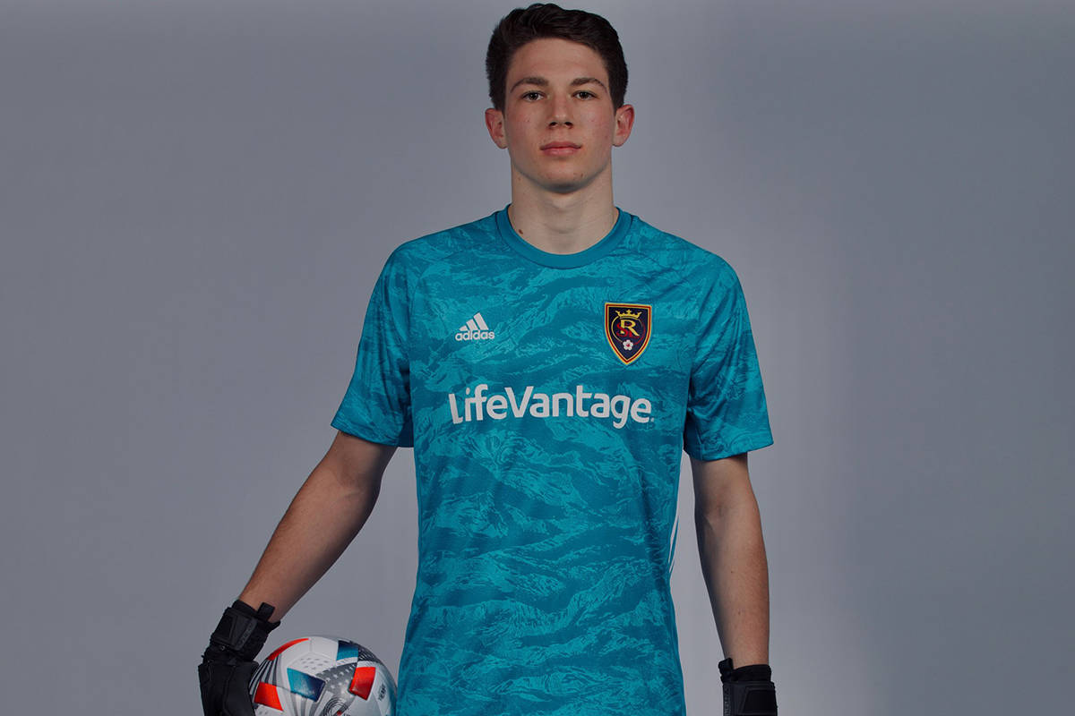 Henderson's Gavin Beavers, 16, is the youngest goalie to start a United Soccer League game. He ...