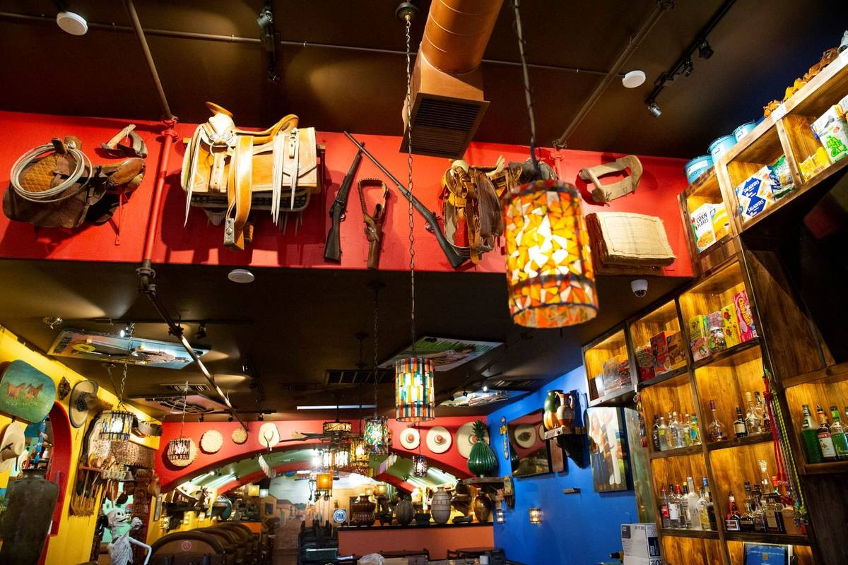 The remodeled Lindo Michoacan, 2655 E Desert Inn Road, in Las Vegas, is seen on Wednesday, July ...