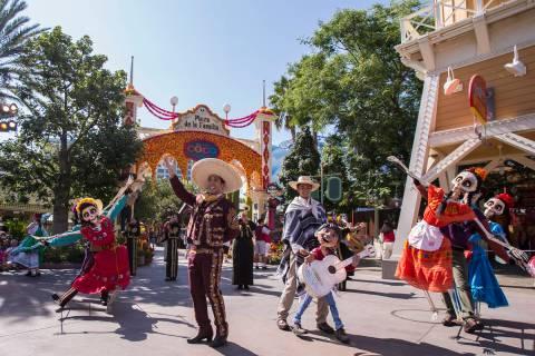 Plaza de la Familia at Disney California Adventure Park celebrates the spirit of Da de los Muer ...