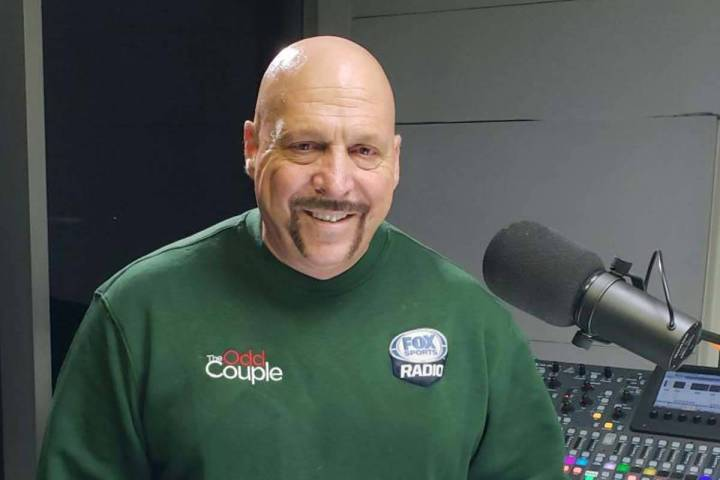"""Las Vegas syndicated sports talk radio host Bernie Fratto has written a book called """"View from ..."""