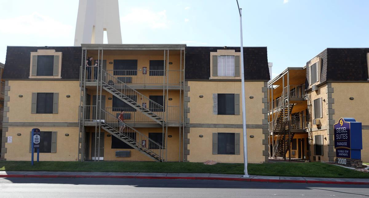 Siegel Suites Paradise in Las Vegas Tuesday, July 20, 2021. (K.M. Cannon/Las Vegas Review-Journ ...