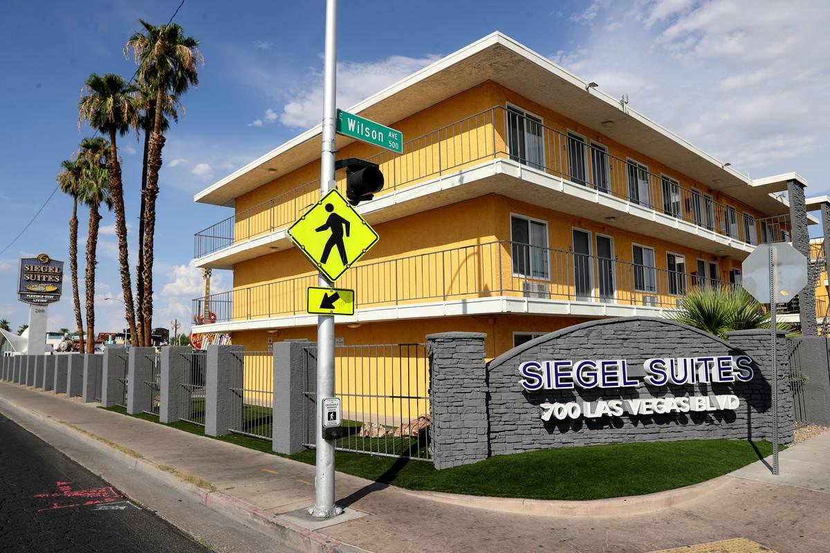 Siegel Suites Las Vegas Boulevard in Las Vegas Tuesday, July 20, 2021. (K.M. Cannon/Las Vegas R ...