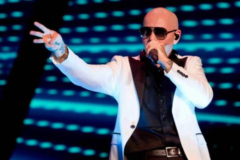 Live Nation is offering $20 tickets to shows, including Pitbull at Zappos Theater. (Kelly Frey/ ...