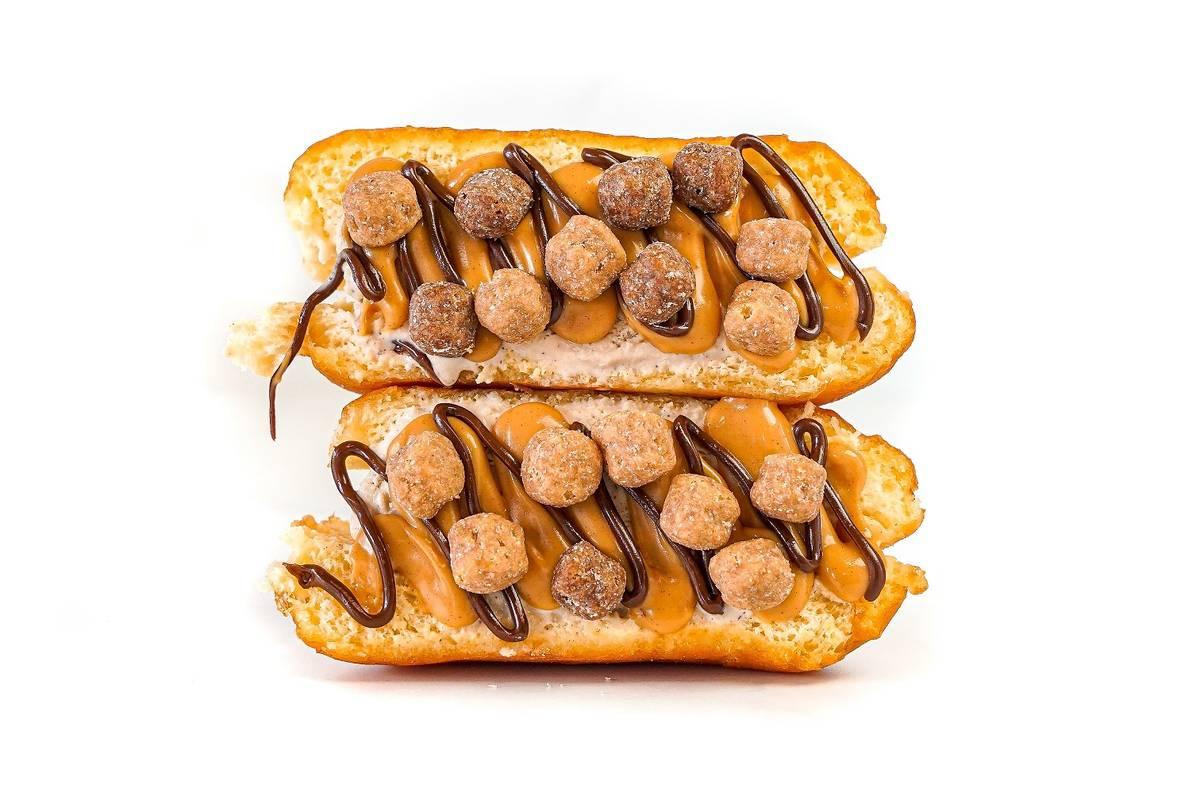 A chocolate peanut butter Smash Donut. (Yonutz)