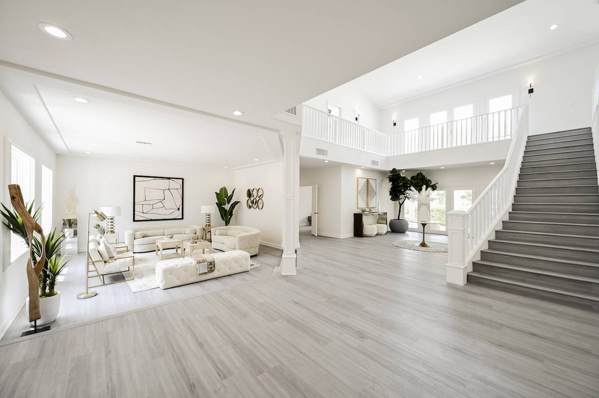 The home has two levels. (LUXE Estates & Lifestyles)