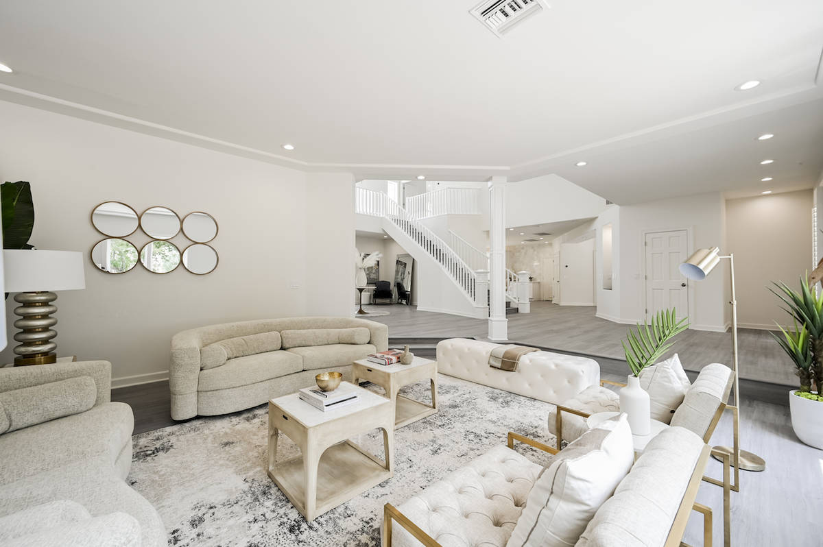 The home in the southeastern valley has undergone $750,000 in renovations. (LUXE Estates & Life ...