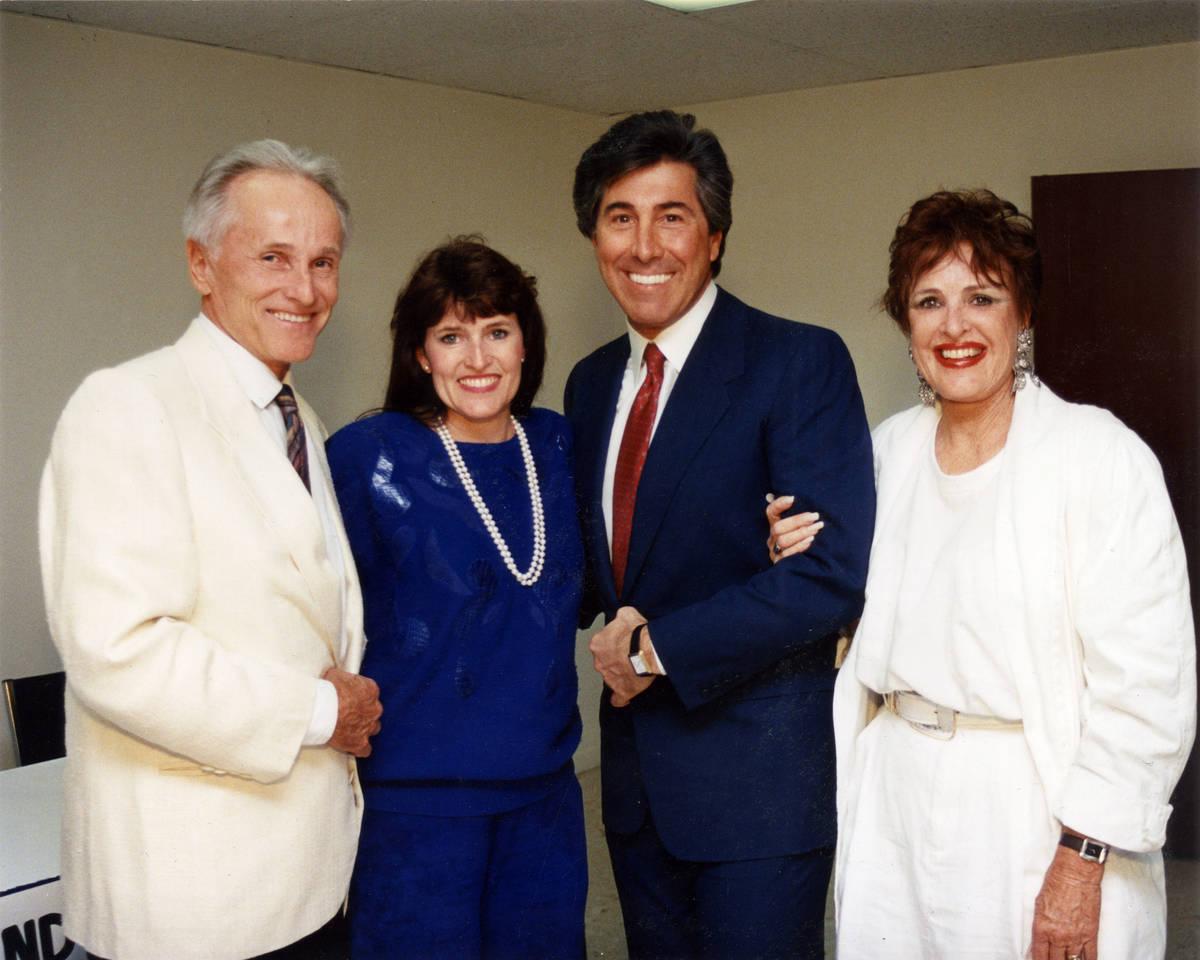 Don Brinkerhoff, daughter Julie Brinkerhoff-Jacobs, former Wynn Resorts Ltd. Chairman and CEO S ...