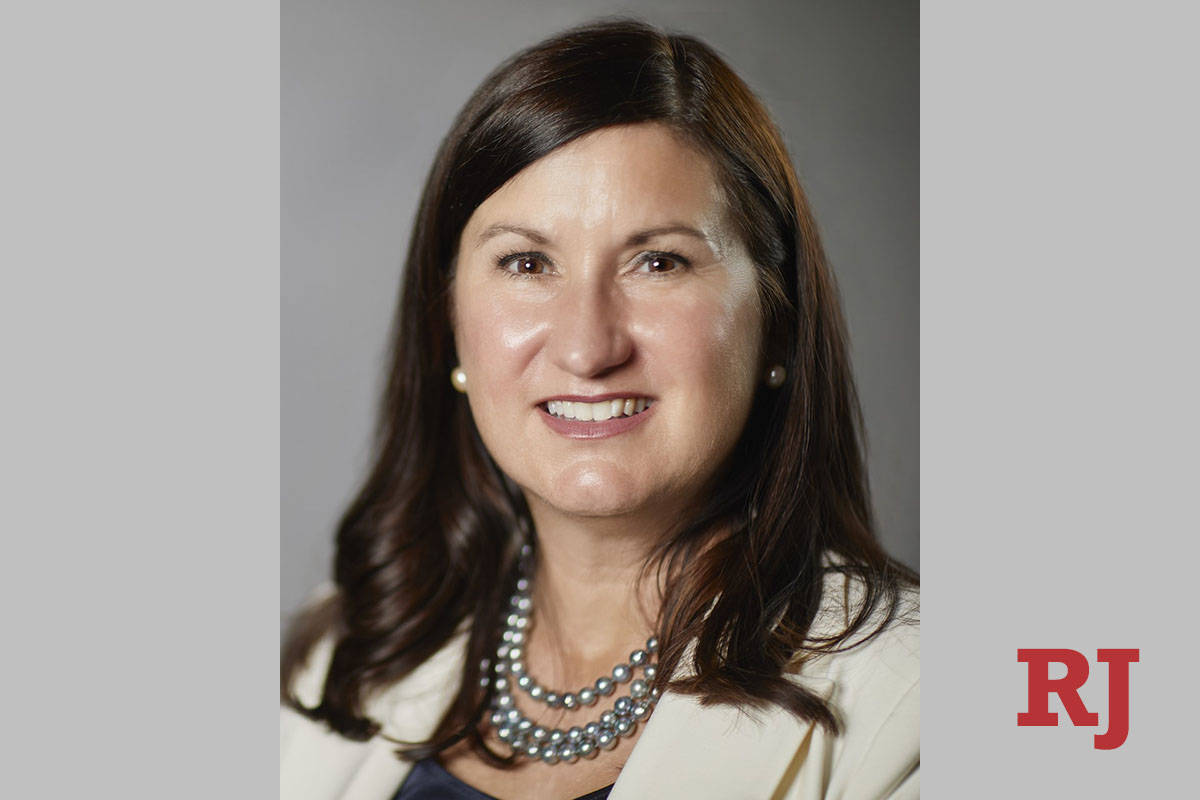 Melody Rose, chancellor of the Nevada System of Higher Education, announced Tuesday, July 27, 2 ...