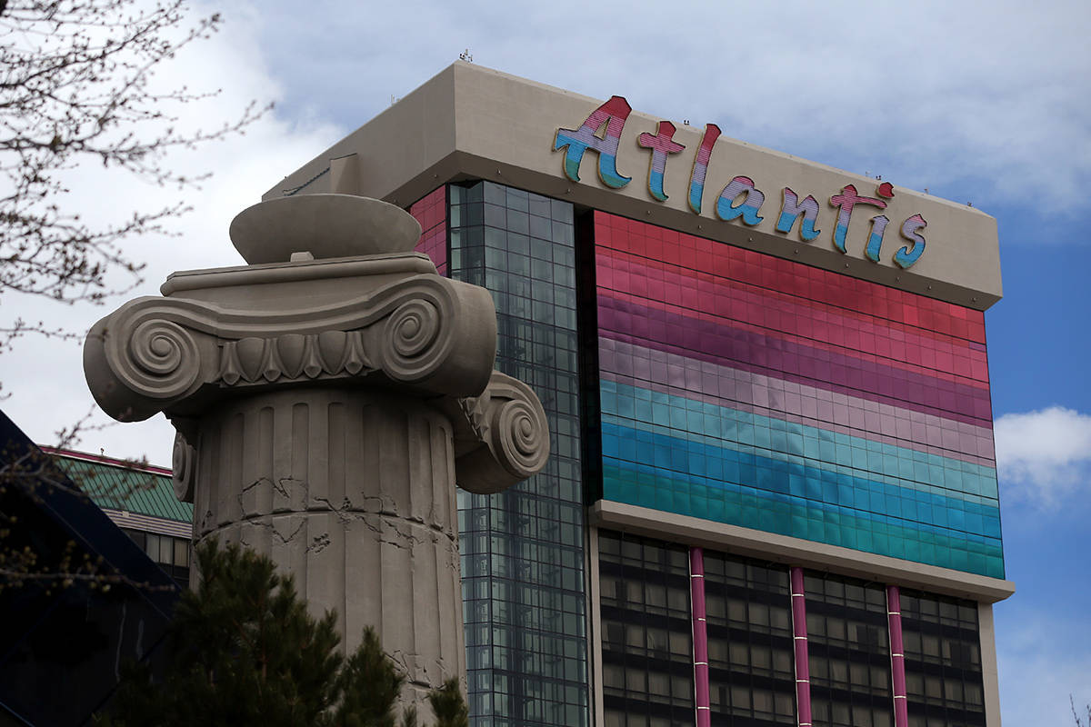 The Atlantis Casino Resort Spa in Reno, Nev. (Las Vegas Review-Journal file)