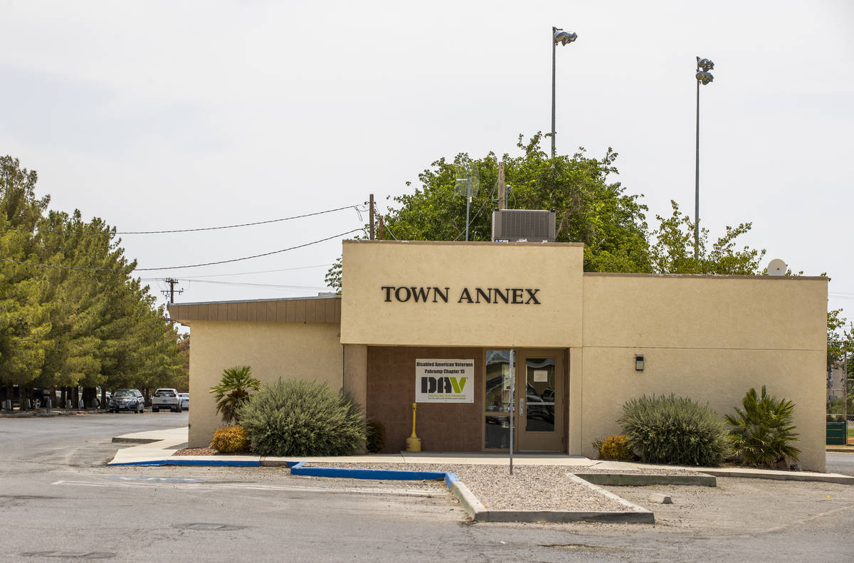 """The Town Annex in Pahrump, television station KPVM there is the setting for """"Small Town Ne ..."""