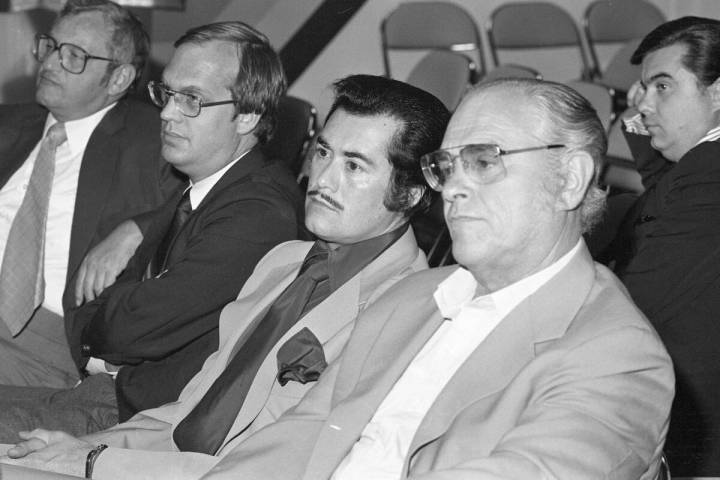 Las Vegas entertainer Wayne Newton appears at a court hearing in 1980. Newton was trying to fin ...
