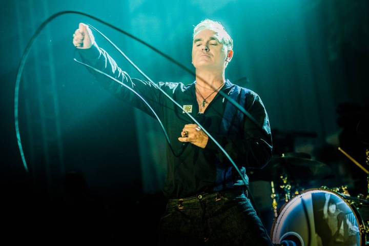 """Morrissey: Viva Moz Vegas"" mini-residency opens at 8:30 p.m. Saturday through Sept. 5 at t ..."