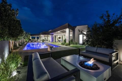 Golden Knights defenseman Alex Pietrangelo sold his Summerlin mansion, seen here, to teammate M ...