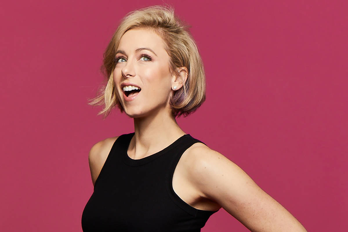 """Iliza Shlesinger is back in the headlining series """"Aces of Comedy"""" at Mirage Theater. (Christop ..."""
