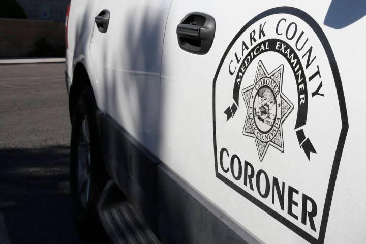 Clark County coroner's office (Bizuayehu Tesfaye/Las Vegas Review-Journal) @bizutesfaye