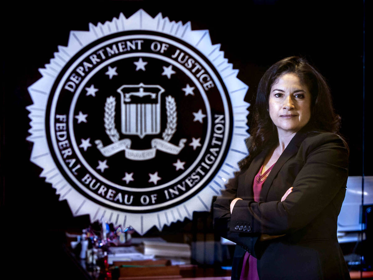 Cynthia Santana, the first female assistant special agent in charge of the Las Vegas FBI divisi ...